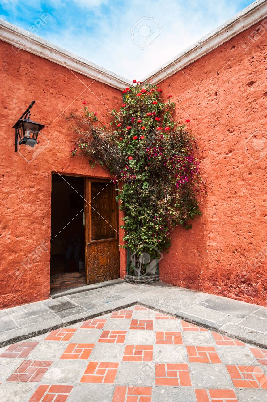 Mansion del Fundador, a renovated centuries old Spanish Colonial mansion, Arequipa, Peru
